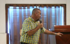 Pastor David Moore Preaching